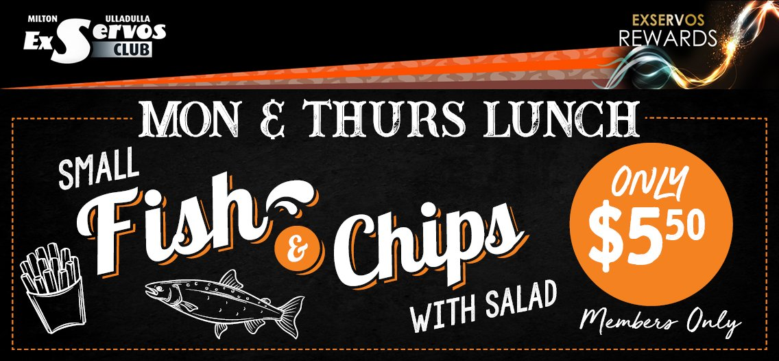 $7 Small Fish & Chips!
