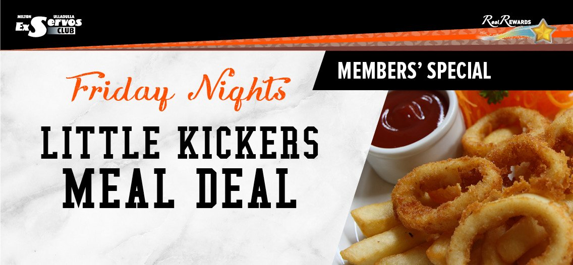 Little Kickers Meal Deal - Friday Night