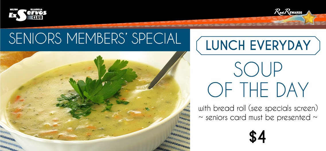 Everyday Lunch - Soup of the Day