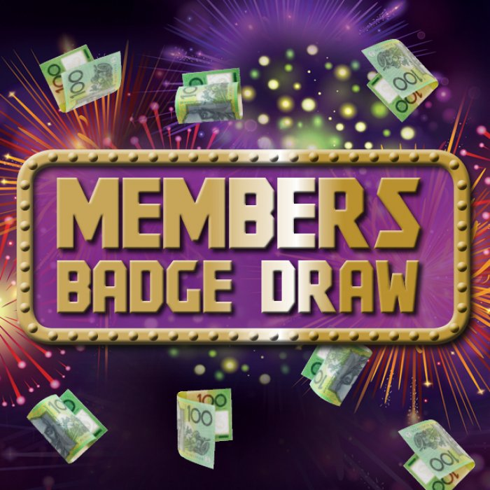 $13K Badge Draw!